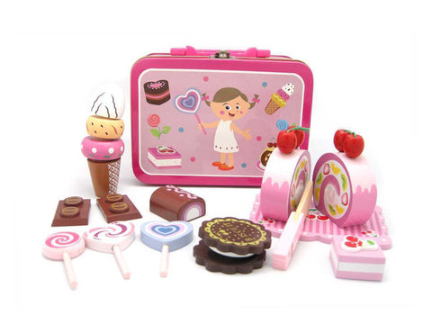 Wooden Sweet Set in Tin Case - Salsa and Gigi Online Store