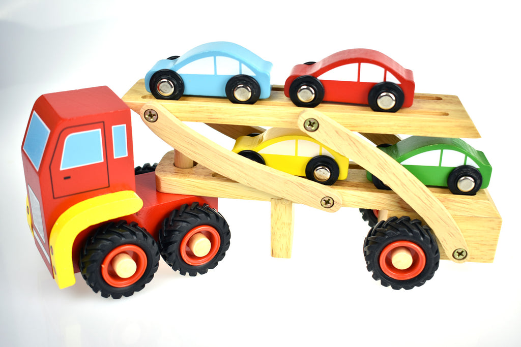 Wooden Car Carrier - Salsa and Gigi Online Store