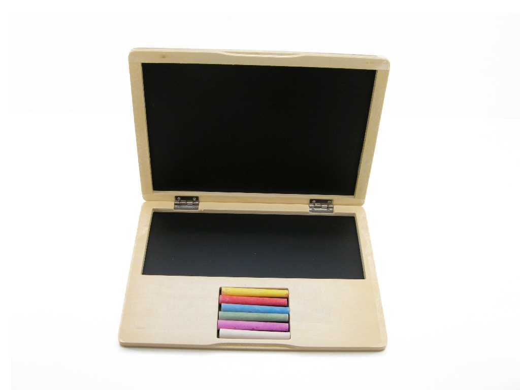 Wooden Notebook Blackboard - Salsa and Gigi Online Store