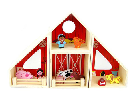 Farm Barn Playset - Salsa and Gigi