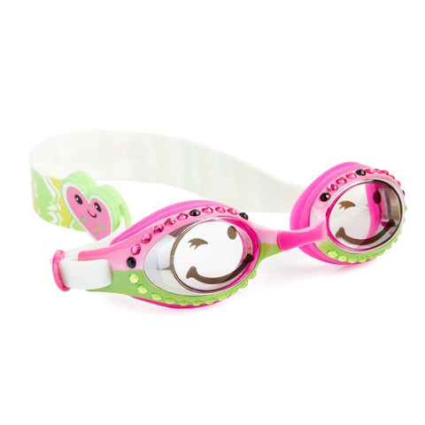 Wacky Watermelon Crimson Sweet Classic Girls Swim Goggles Bling2o - Salsa and Gigi Australia 02