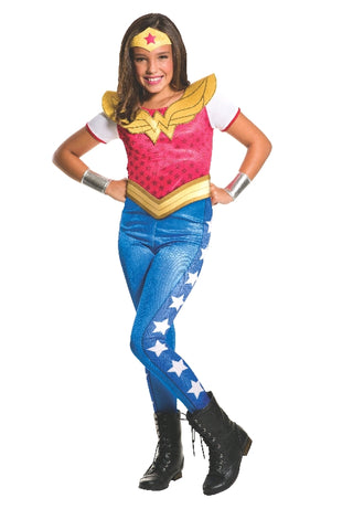 Wonder Woman Girls DC Superheroes Costume - Salsa and Gigi Australia
