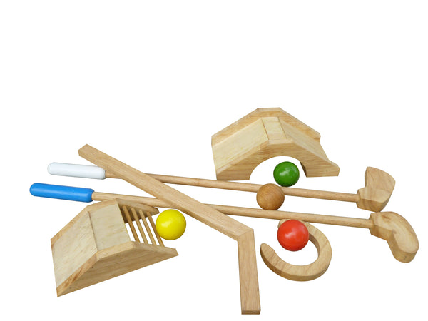 Q Toys Wooden Mini Golf Set - Salsa and Gigi Australia