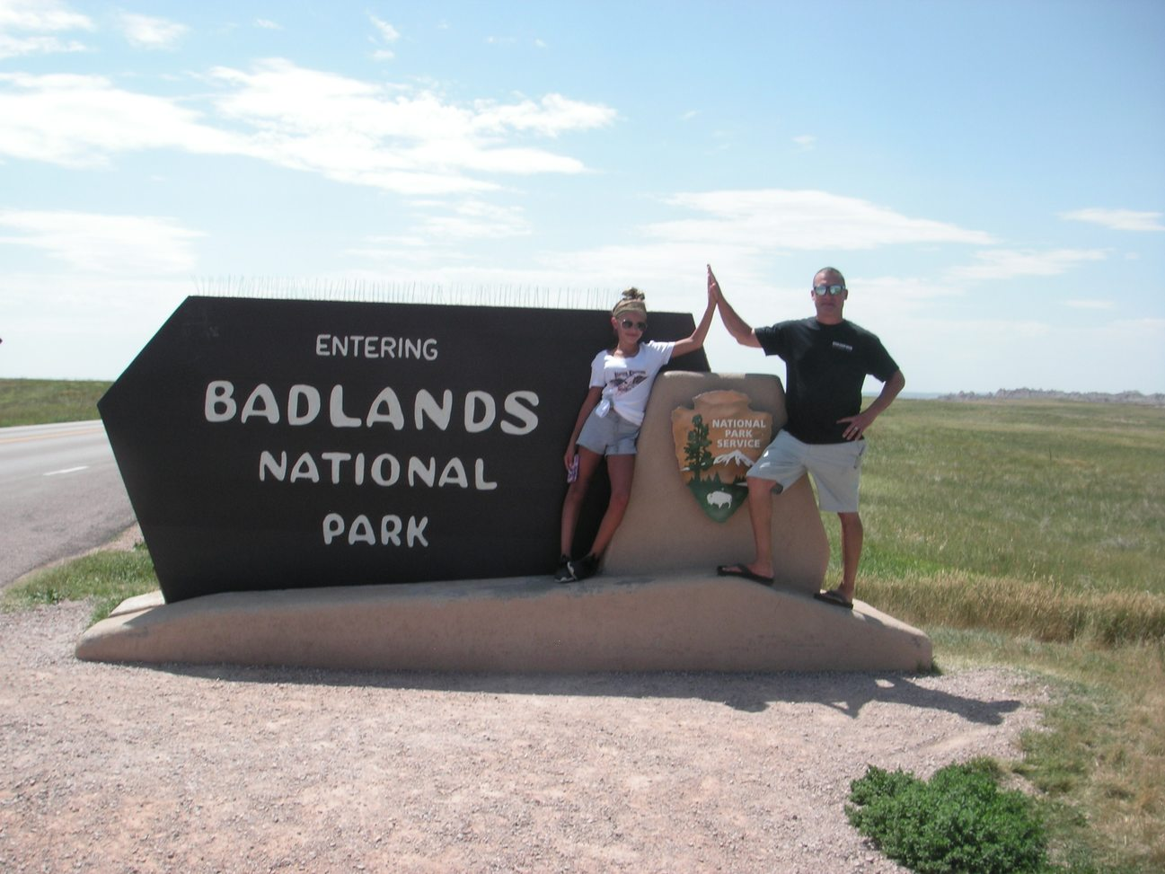 sharks in the badlands 928s event badlands national park sign