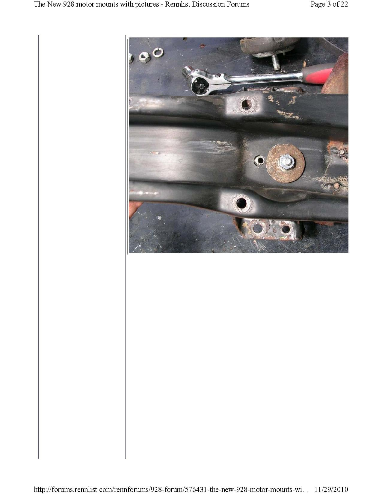 New 928 motor mounts with pictures pg3