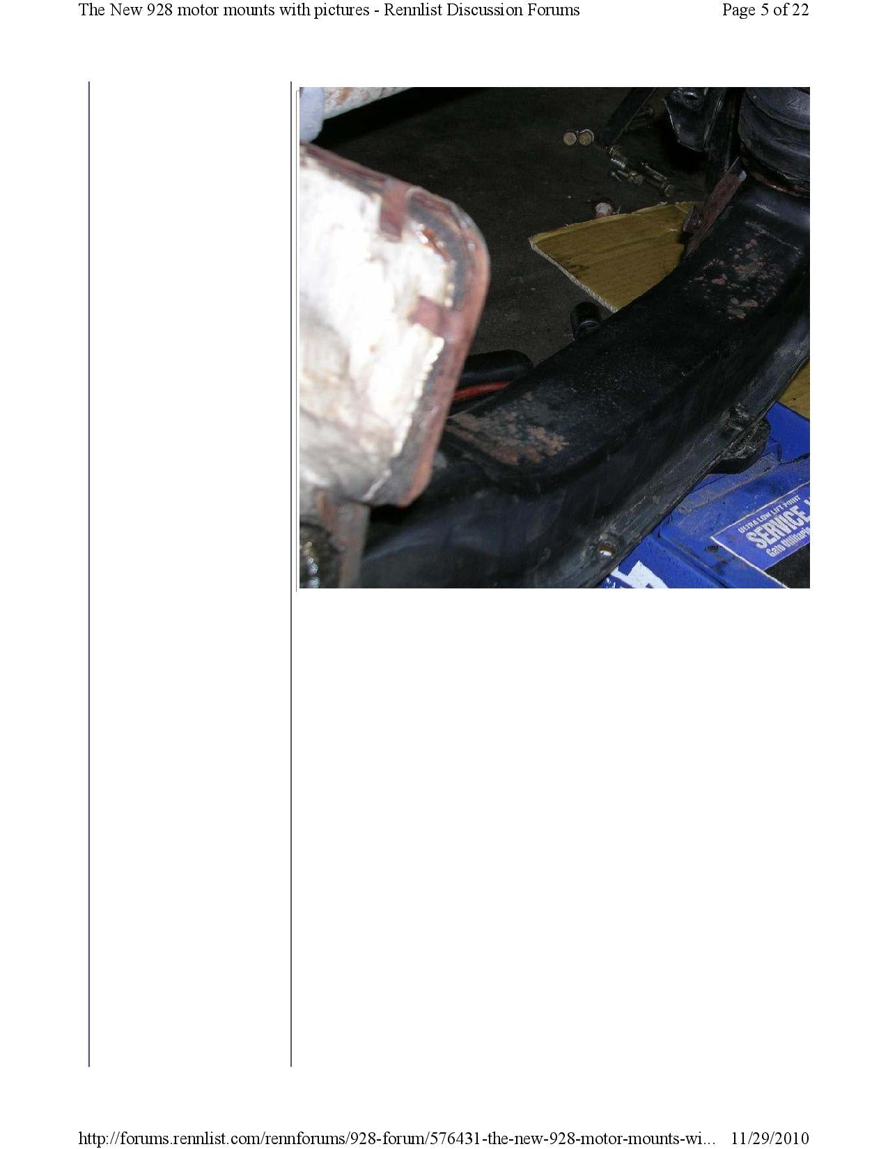New 928 motor mounts with pictures pg5