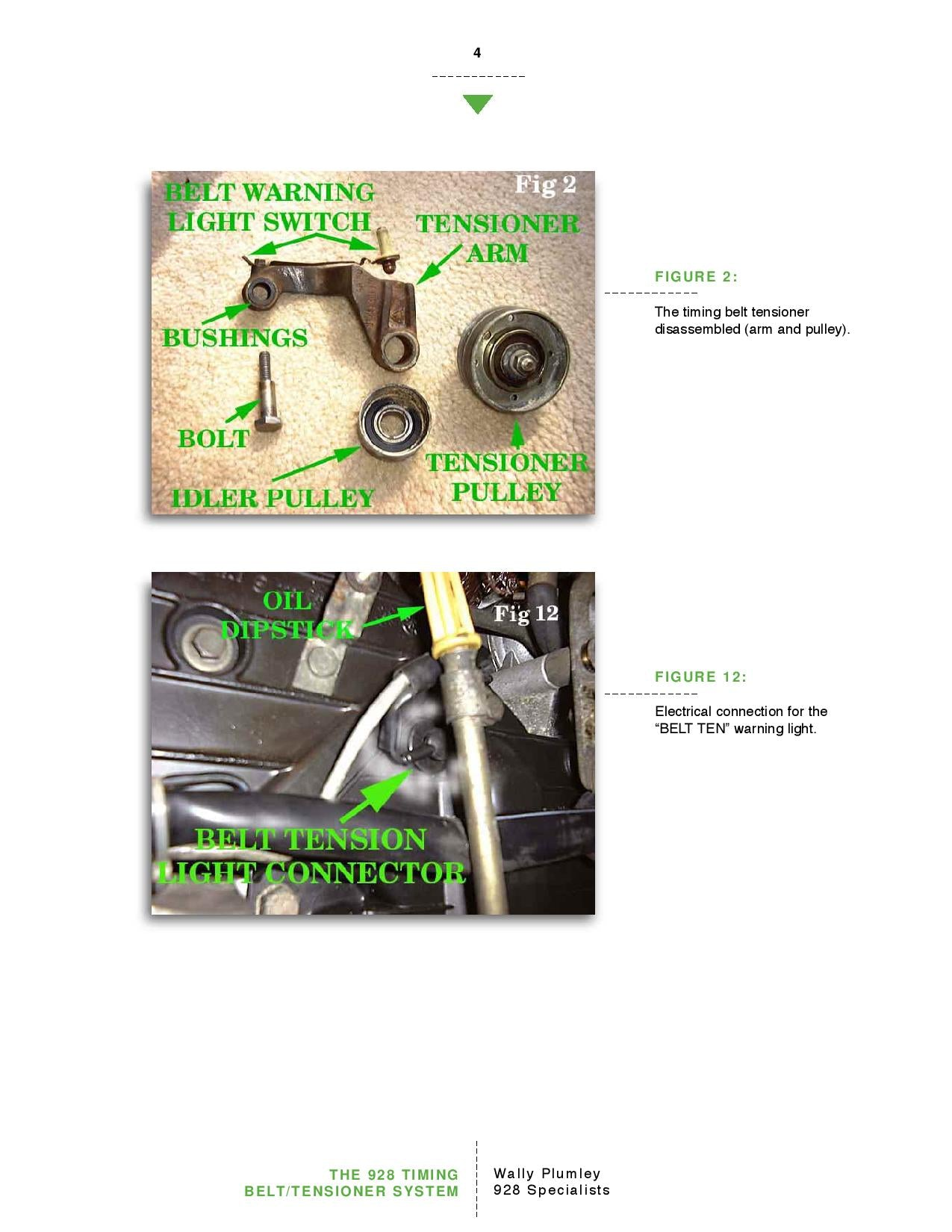 The 928 Timing Belt and Tensioner System pg4