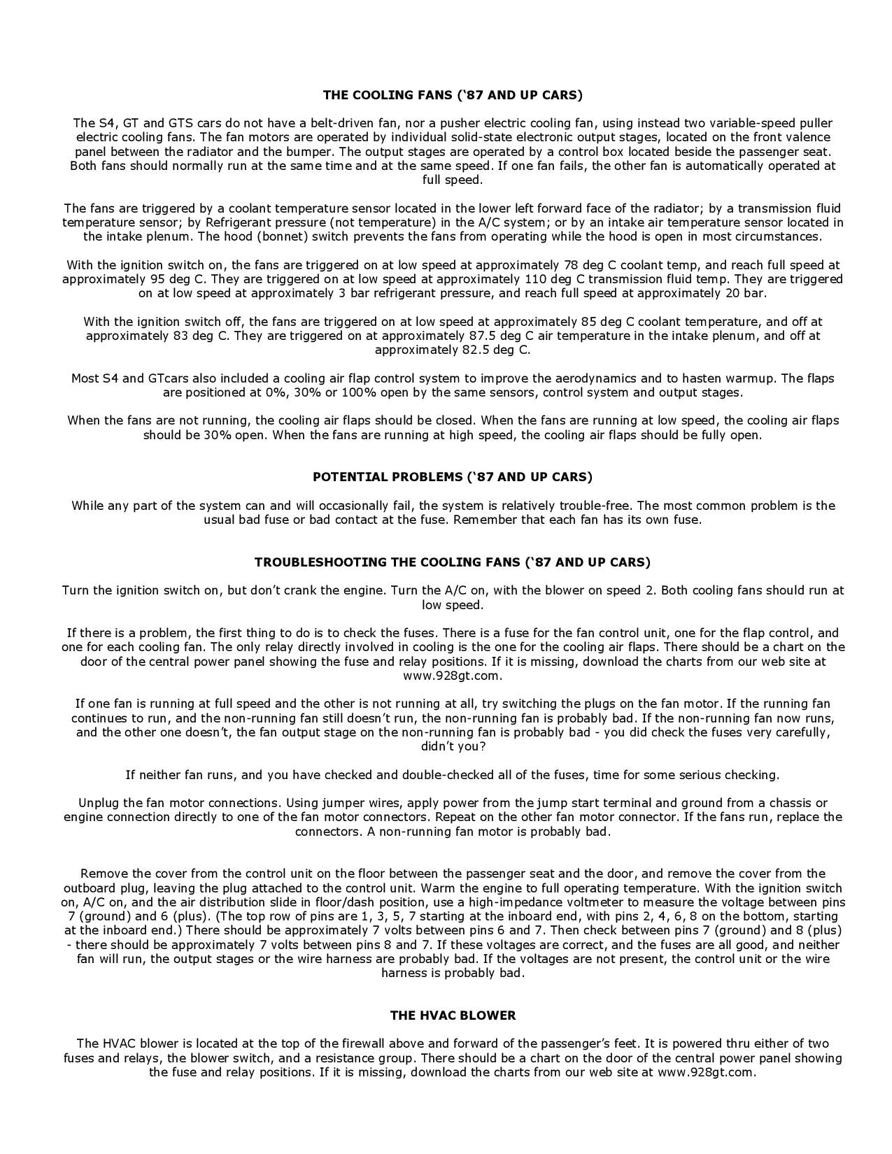 Troubleshooting the Refigeration System pg3