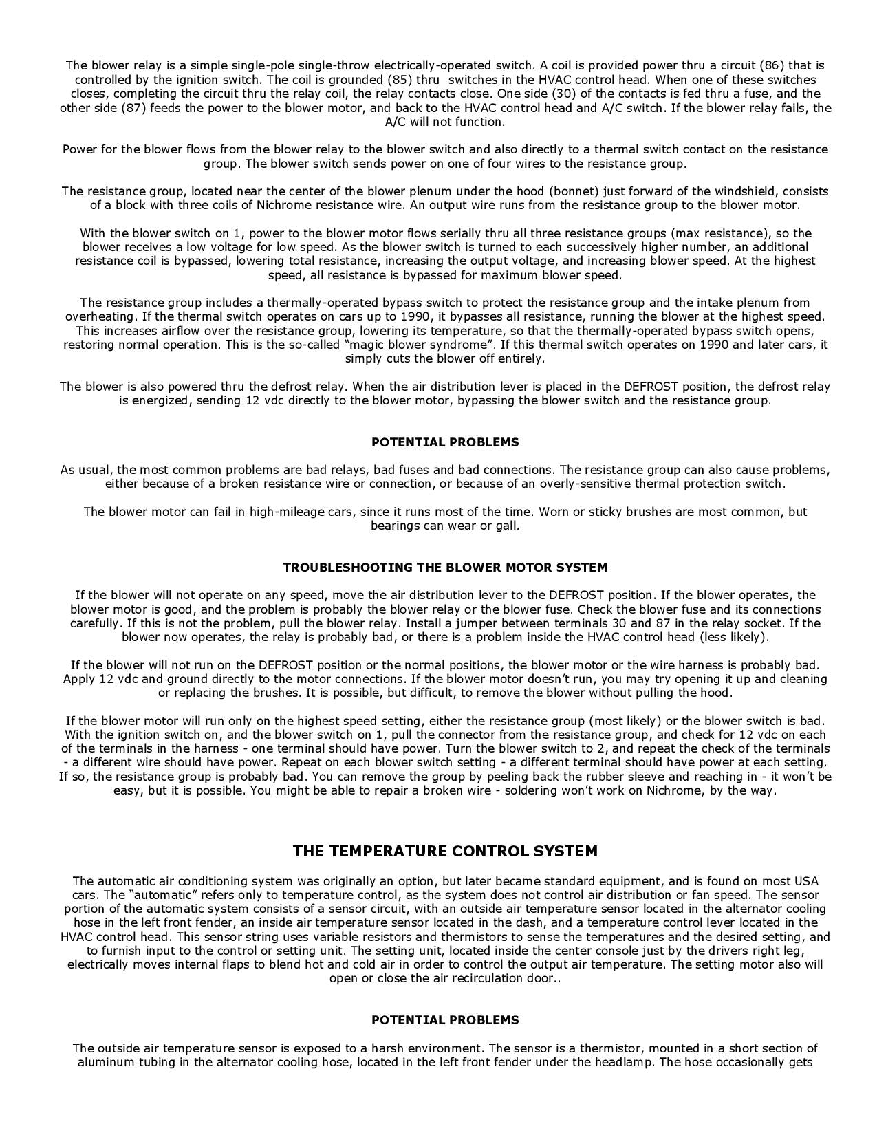 Troubleshooting the Refigeration System pg4