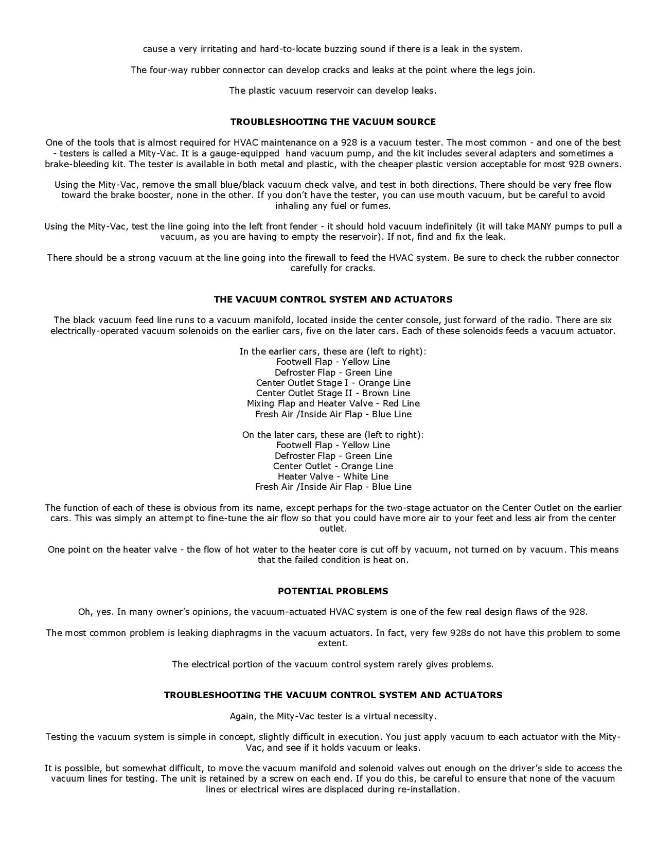 Troubleshooting the Refigeration System pg6