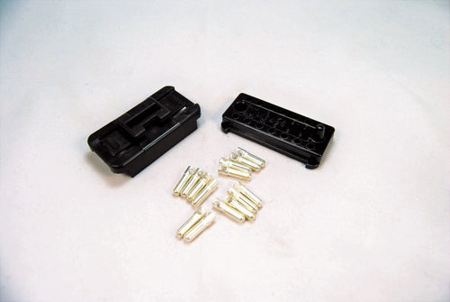 A male 14 pin engine connector for Porsche 928s.