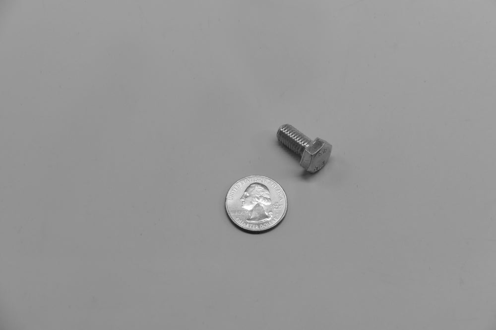 An M8 x 16 hex bolt for Porsche 928s.