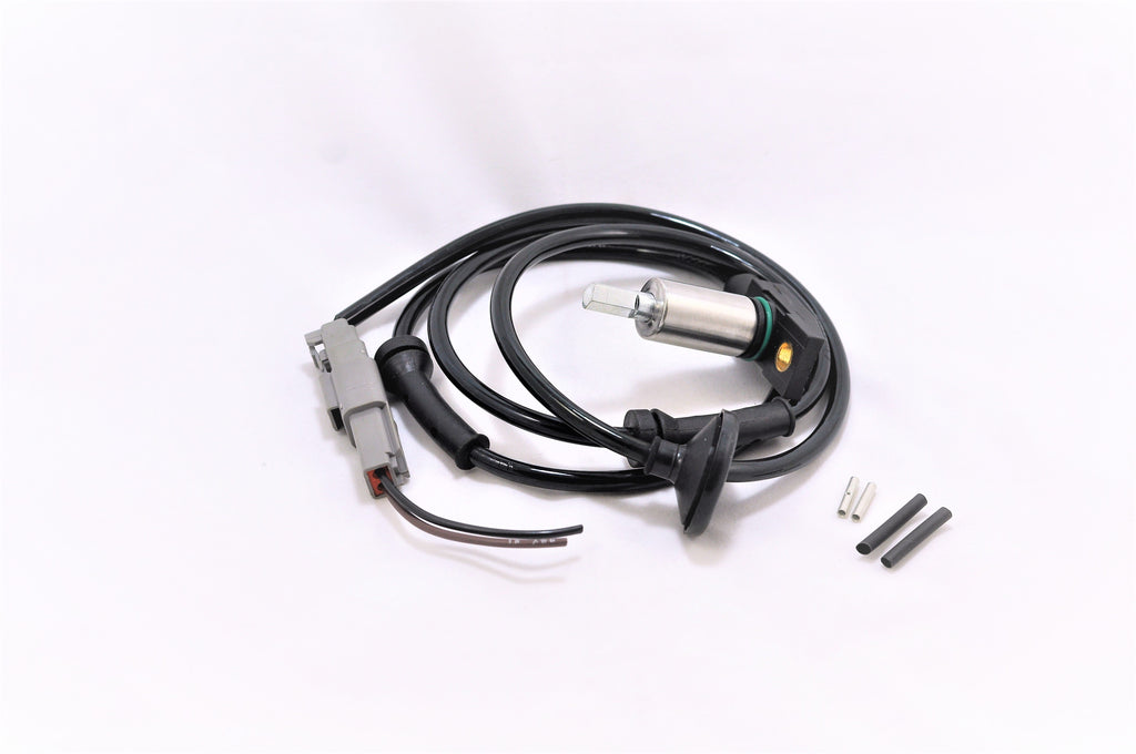 A front aftermarket ABS speed sensor for Porsche 928s.
