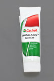 A tube of Castrol Optimoly HT Mounting Paste.
