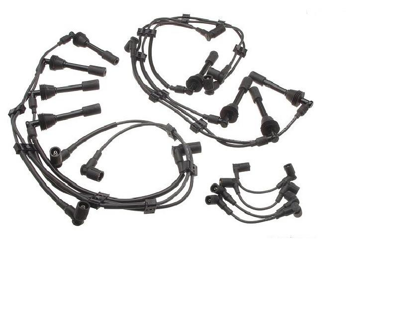 An ignition wire set for Porsche 928s.