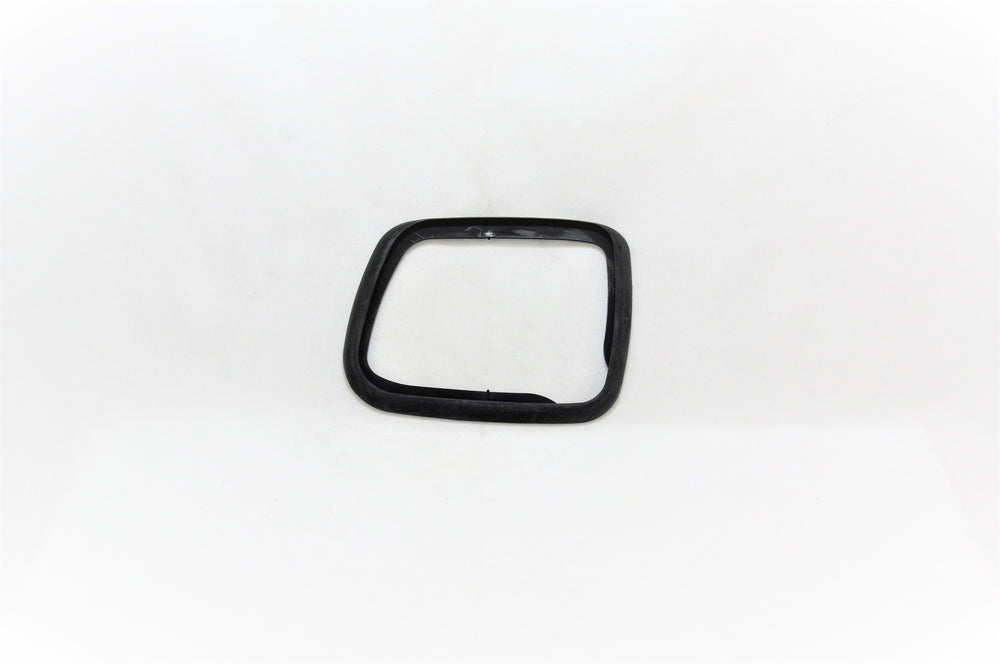A right side mirror base seal for Porsche 928s.