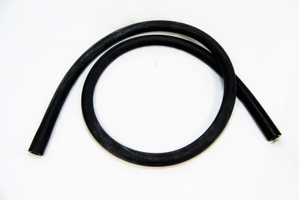 A black small hose that goes from T stat to reservoir for Porsche 928s.
