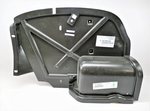 A left splash shield for Porsche 928s.