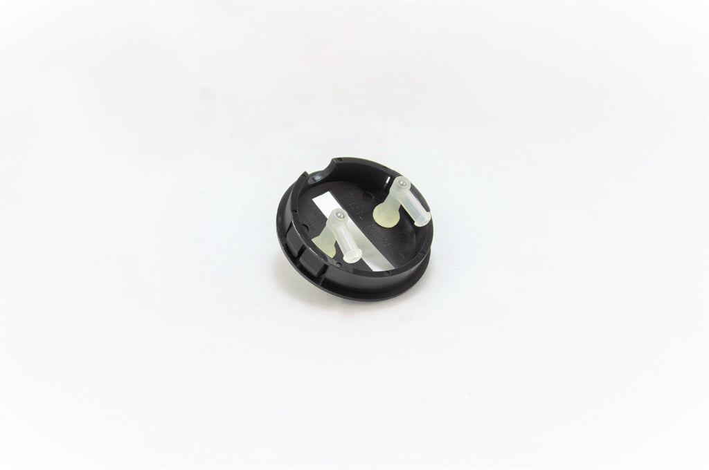 A washer hood cap for Porsche 928s.