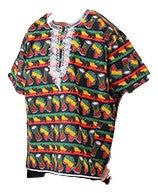 About KKUNDA's Map of Africa Dashiki