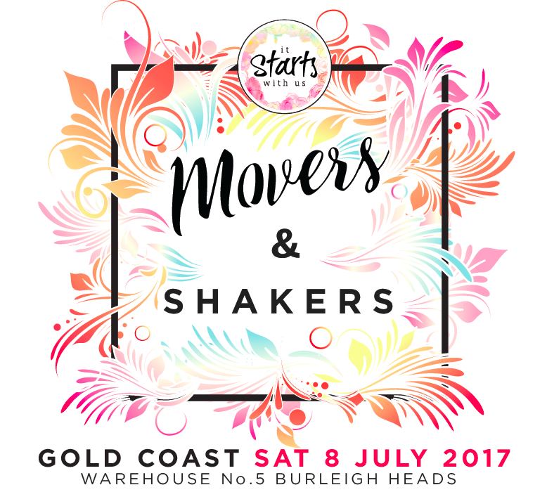 Movers and Shakers, It Starts With Us events