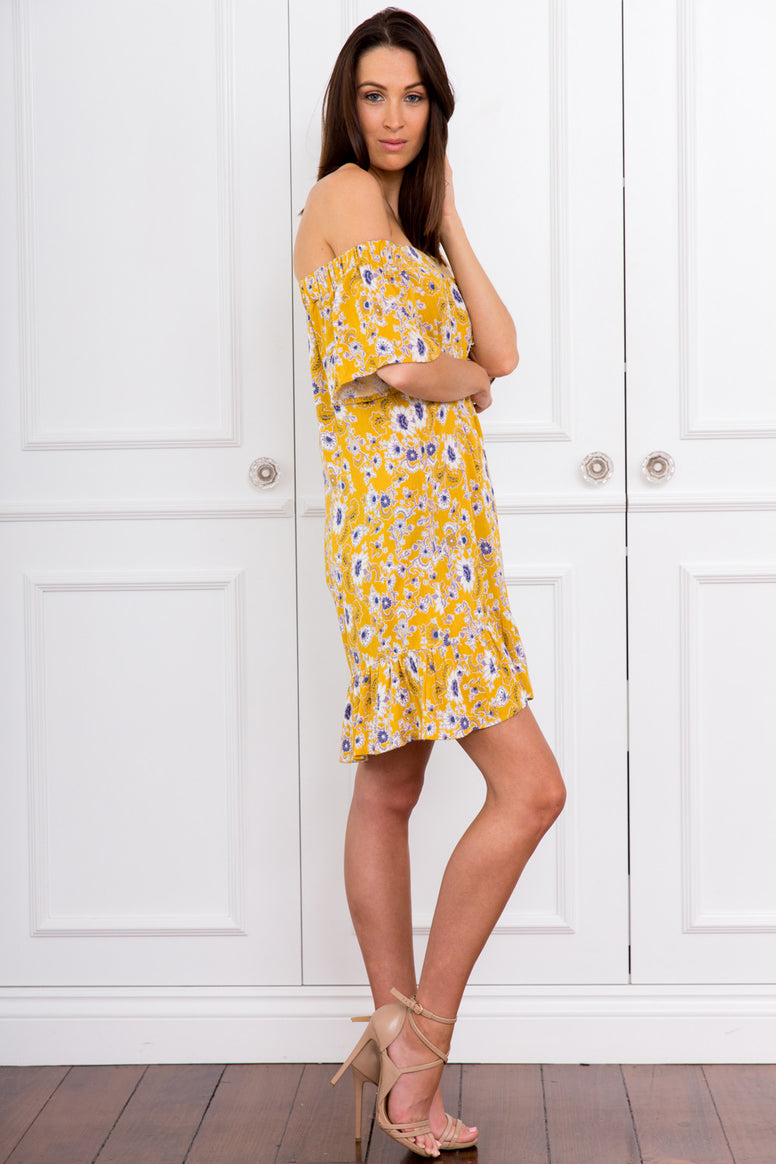 Kirsty Floral Shift Dress
