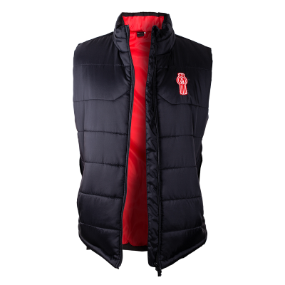 Kenworth Black & Red Puffer Vest