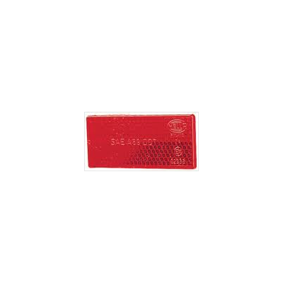 Hella 2920 Red Reflector - Small