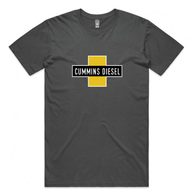 Cummins Charcoal Diesel T-Shirt