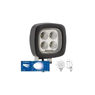 Narva 72449 LED Work Lamp - Flood Beam