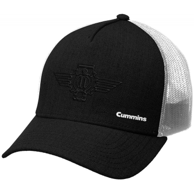 Black COG Trucker Cap