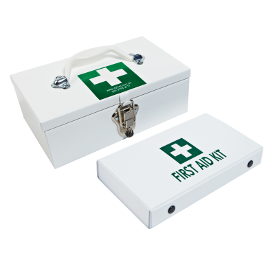 First Aid Kit with Bonus Glovebox Kit