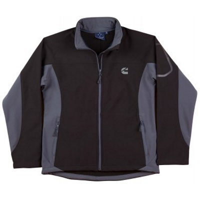 Cummins Black/Grey Soft Shell Jacket