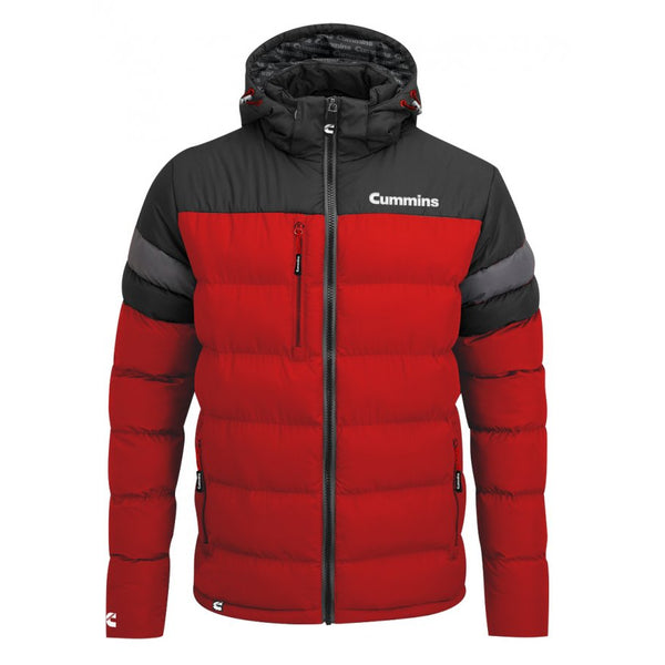 Cummins Red/Black Puffer Jacket
