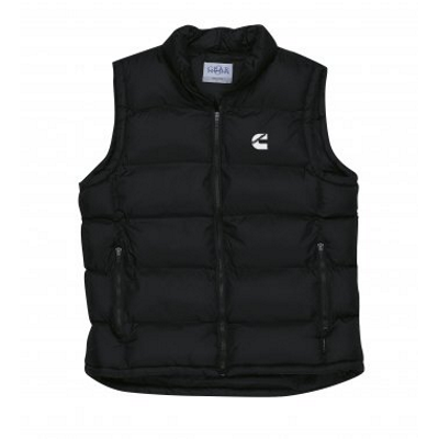 Cummins Black Puffer Vest