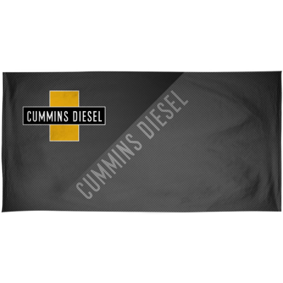 Cummins Diesel Beach Towel