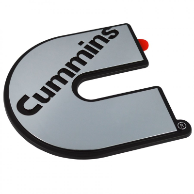 Cummins Chrome Sticker (Badge)