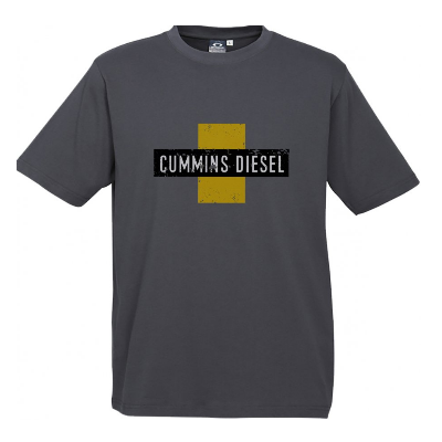 Cummins Grey Diesel T-Shirt