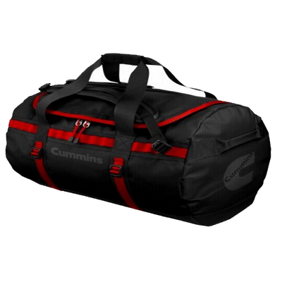 Cummins Black & Red Duffle Bag
