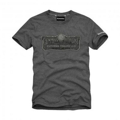 Cummins Charcoal Grey Engine T-Shirt