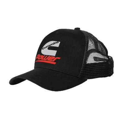 Cummins Black Trucker Cap