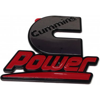 Cummins Power Chrome Sticker (Badge)