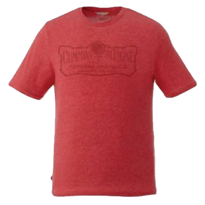 Cummins Red Heather T-Shirt