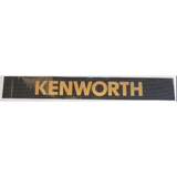 Kenworth Windscreen Decal Black/Gold 1225x165mm