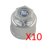BPW Transpec Chrome Plated Nut Covers
