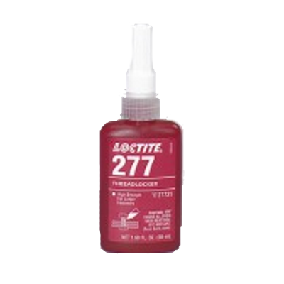 Loctite 277 Large Bolt High Strength Red Threadlocker 50ml