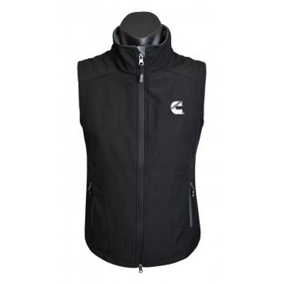 Cummins Ladies Black/Grey Vest - Medium