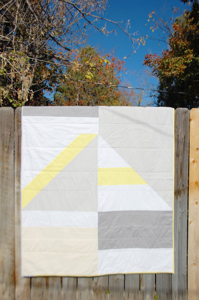 Linear Light Quilt