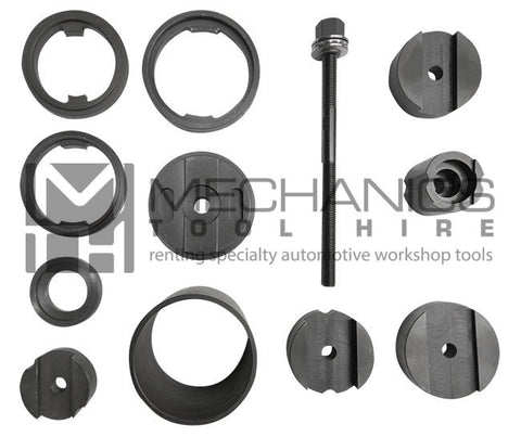 BMW CHASSIS  Rear Sub Frame Bush Removal / Installer Master Kit
