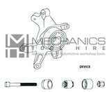 Mercedes Benz Chassis Rear Axle Bush Remover / Installer